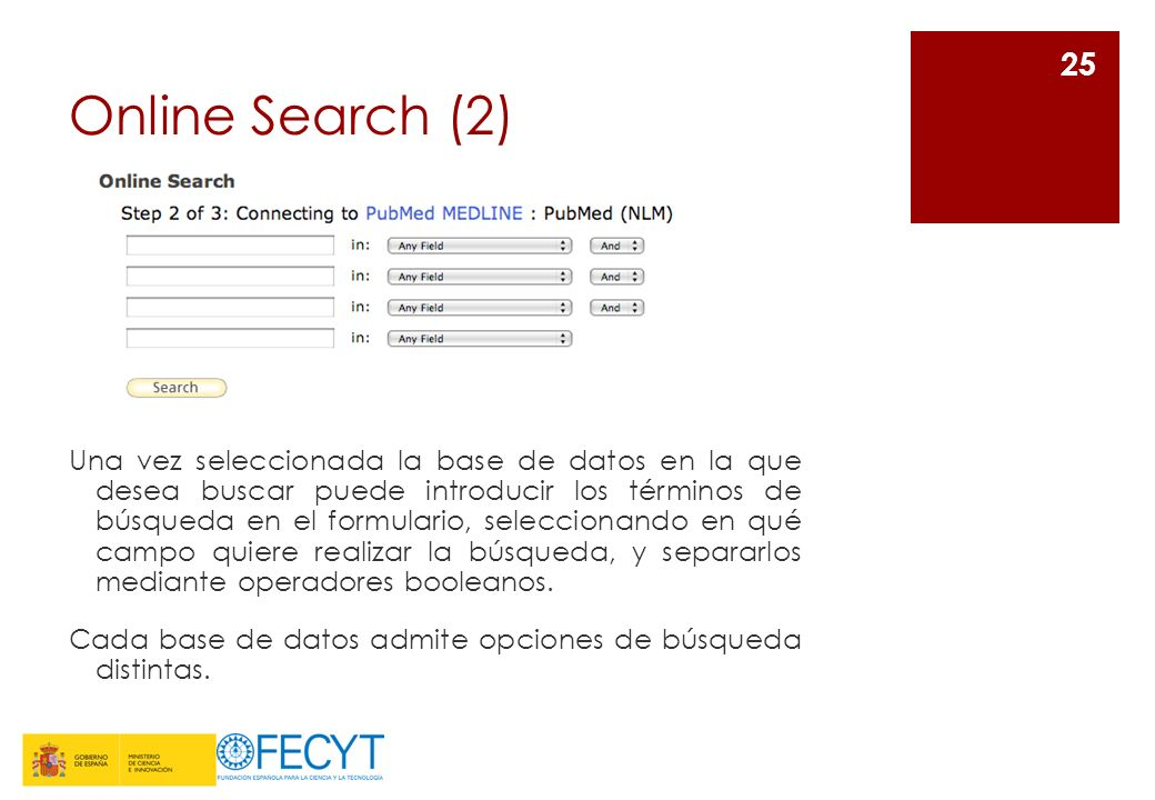 Online Search (2)
