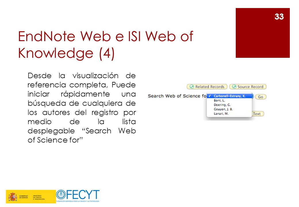 EndNote Web e ISI Web of Knowledge (4)