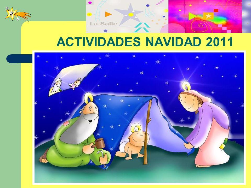 ACTIVIDADES NAVIDAD 2011