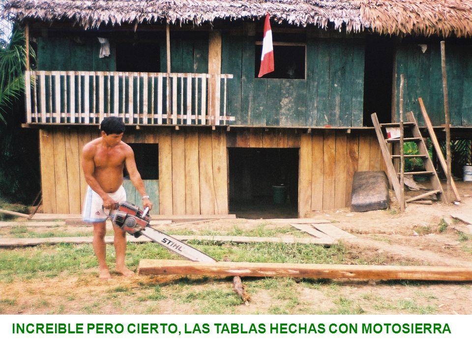 INCREIBLE PERO CIERTO, LAS TABLAS HECHAS CON MOTOSIERRA