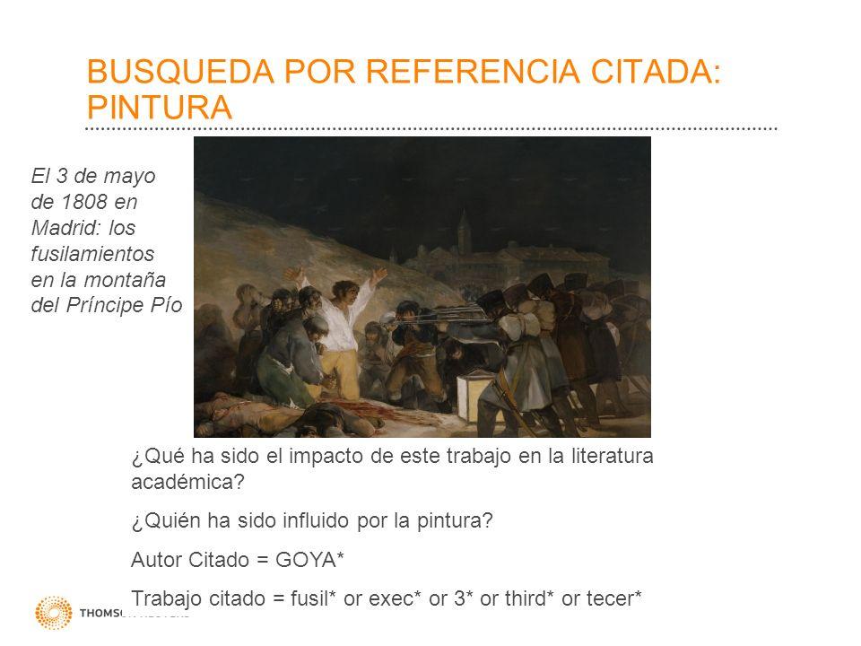 BUSQUEDA POR REFERENCIA CITADA: PINTURA