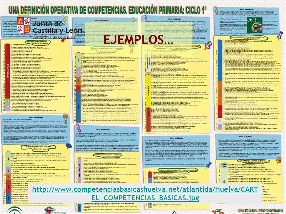 EJEMPLOS… http://www.competenciasbasicashuelva.net/atlantida/Huelva/CARTEL_COMPETENCIAS_BASICAS.jpg