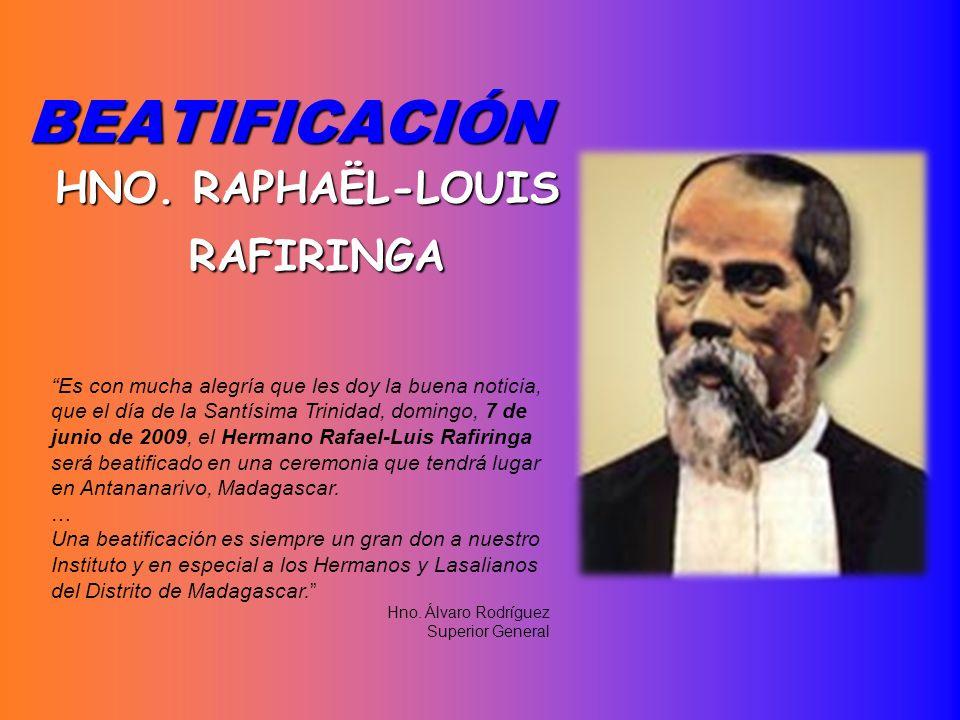 HNO. RAPHAËL-LOUIS RAFIRINGA