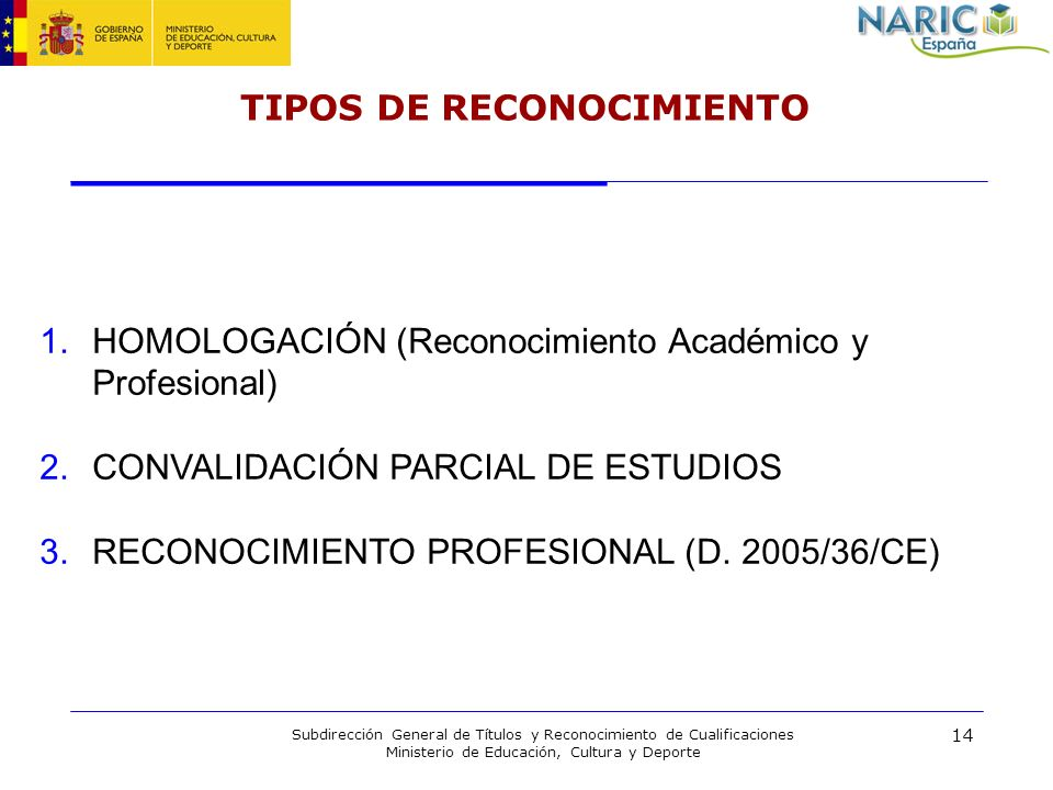 TIPOS DE RECONOCIMIENTO