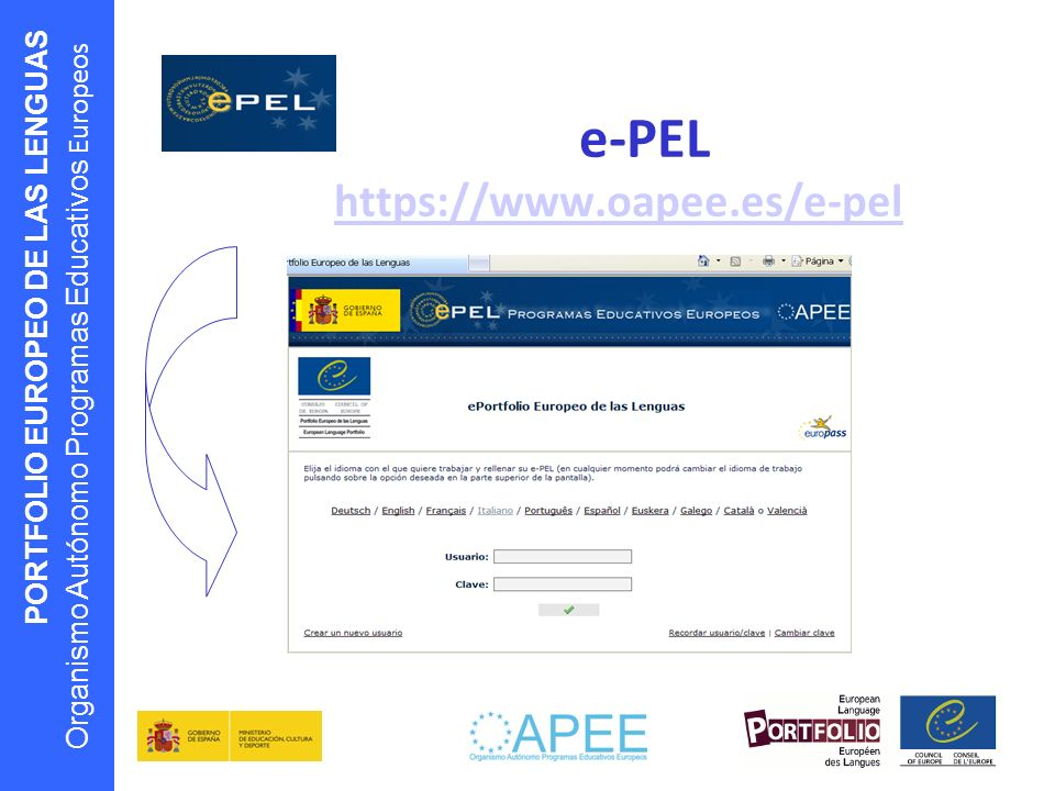 e-PEL https://www.oapee.es/e-pel