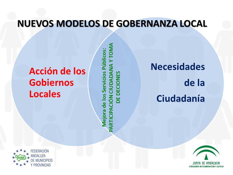 NUEVOS MODELOS DE GOBERNANZA LOCAL