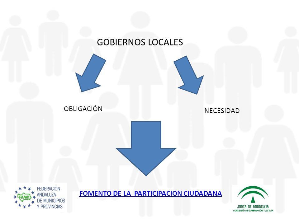 FOMENTO DE LA PARTICIPACION CIUDADANA