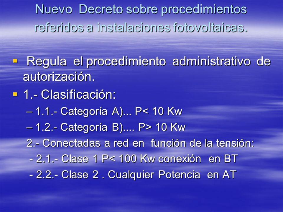 Regula el procedimiento administrativo de autorización.