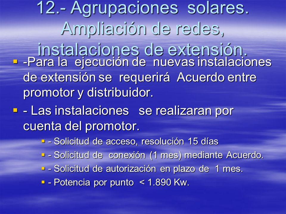 12. - Agrupaciones solares