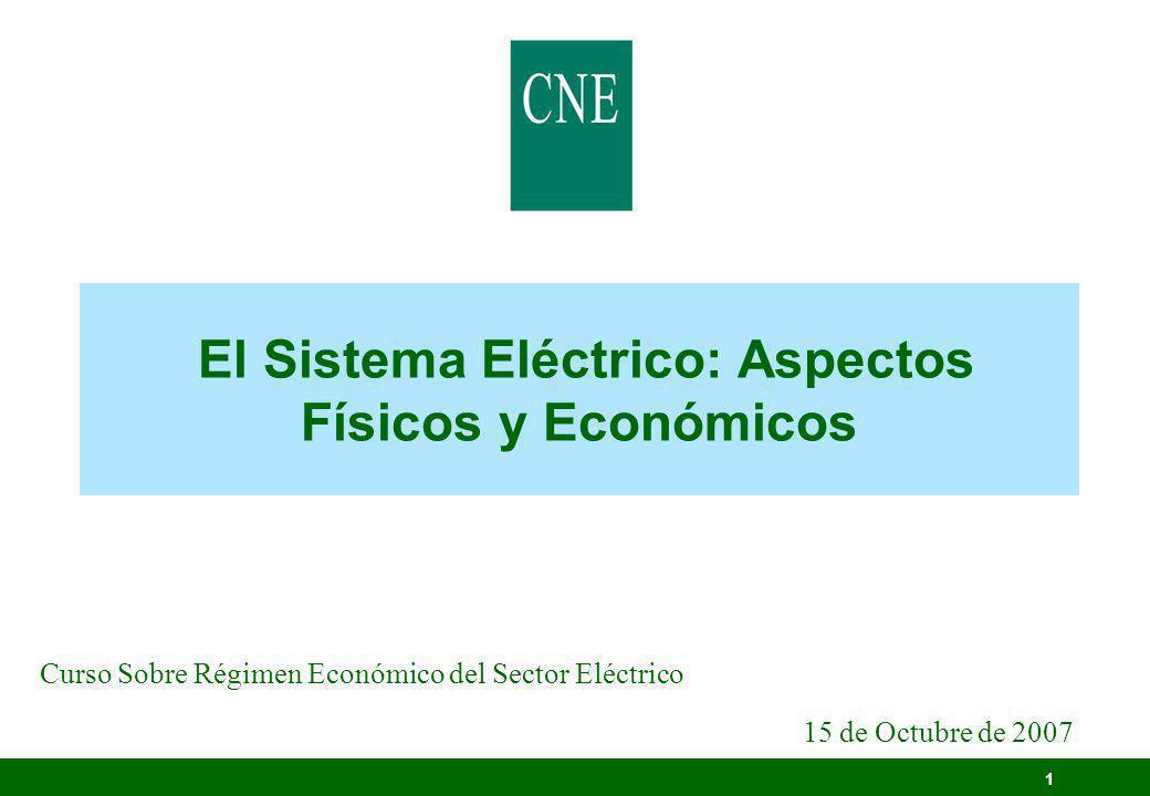 El Sistema Eléctrico: Aspectos Físicos y Económicos