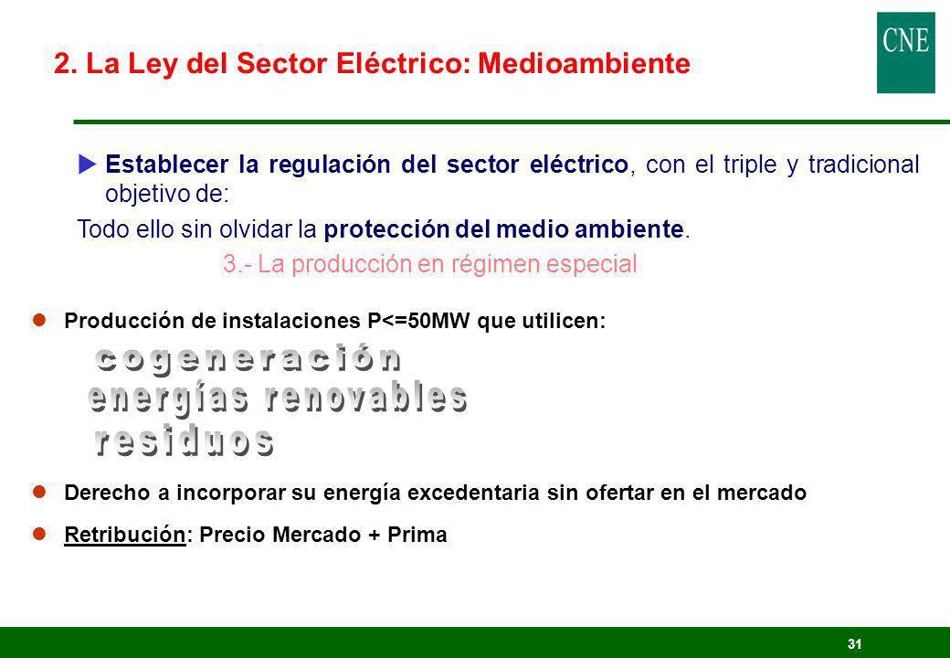 cogeneración energías renovables residuos