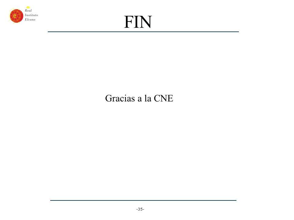 FIN Gracias a la CNE