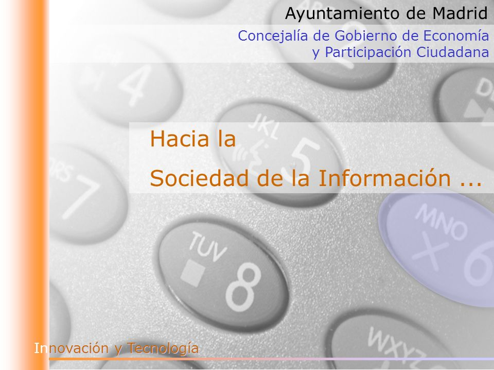 Sociedad de la Información ...