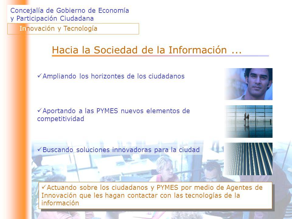 Hacia la Sociedad de la Información ...