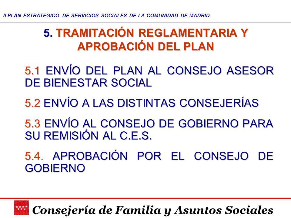 5. TRAMITACIÓN REGLAMENTARIA Y APROBACIÓN DEL PLAN
