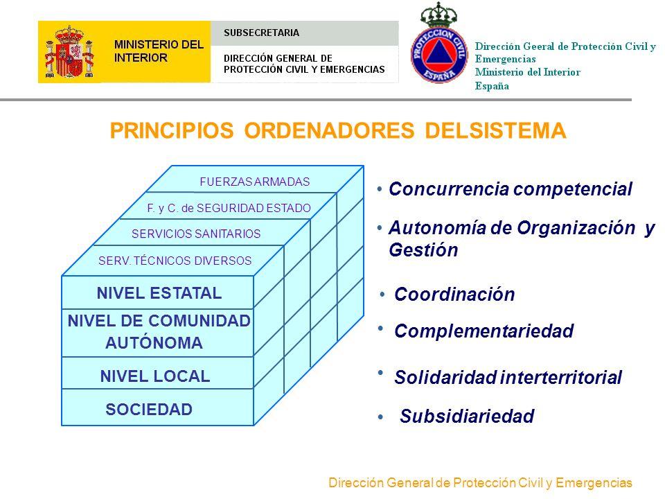 PRINCIPIOS ORDENADORES DELSISTEMA