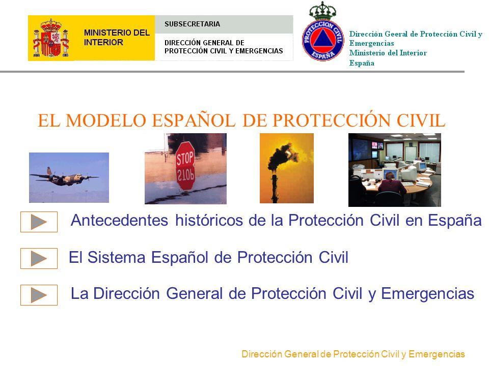 EL MODELO ESPAÑOL DE PROTECCIÓN CIVIL