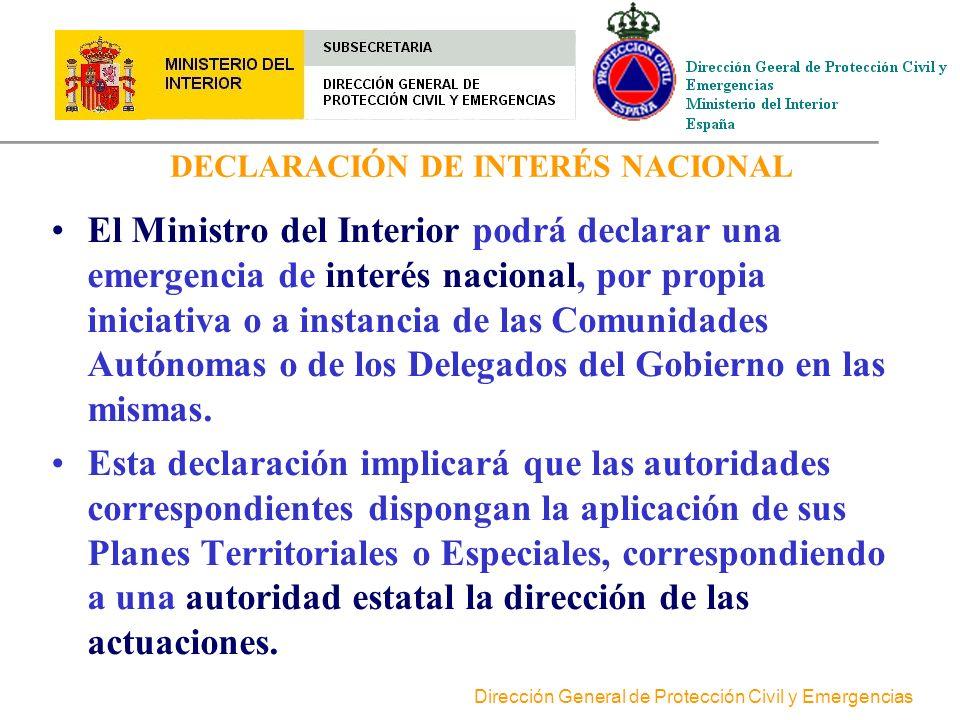 DECLARACIÓN DE INTERÉS NACIONAL