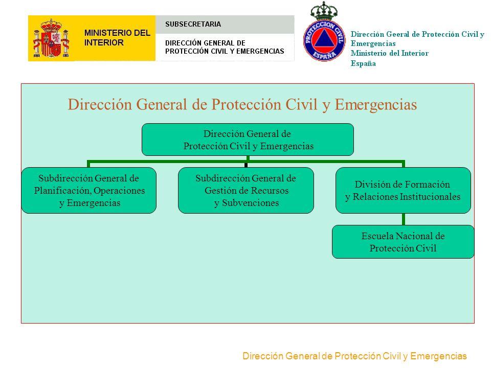 Dirección General de Protección Civil y Emergencias