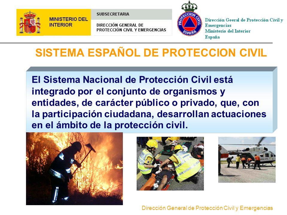 SISTEMA ESPAÑOL DE PROTECCION CIVIL