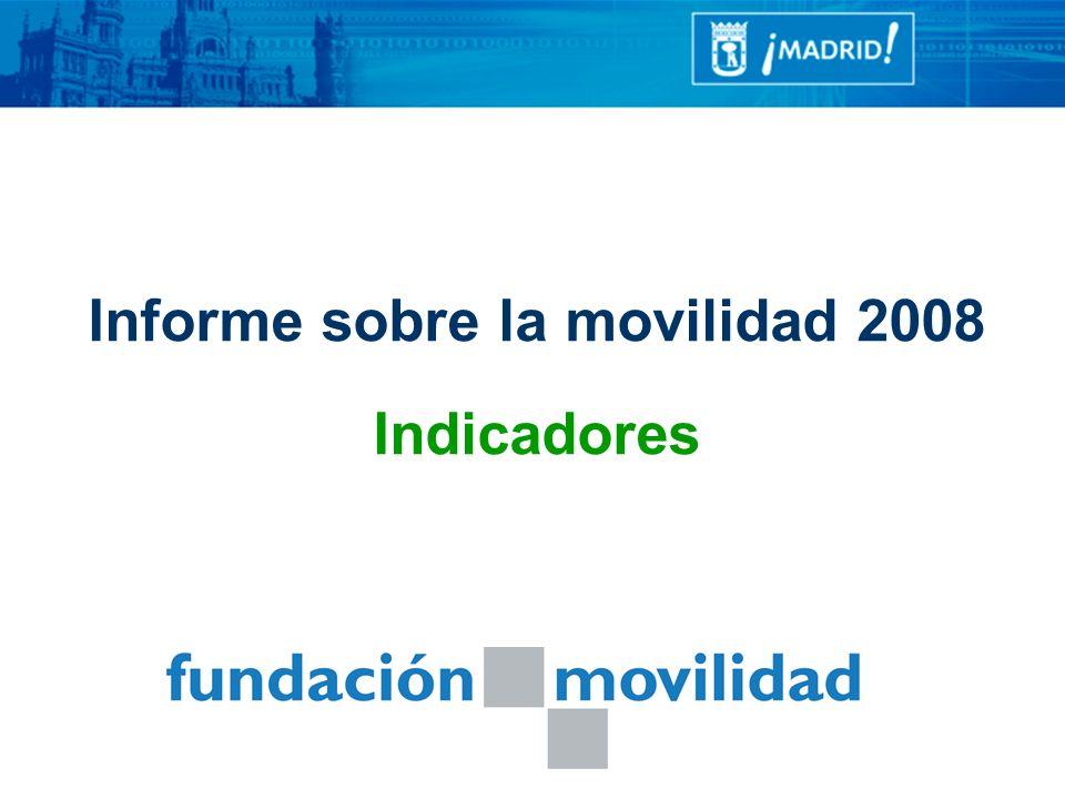 Informe sobre la movilidad 2008