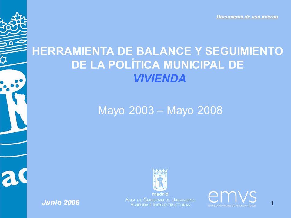 HERRAMIENTA DE BALANCE Y SEGUIMIENTO DE LA POLÍTICA MUNICIPAL DE
