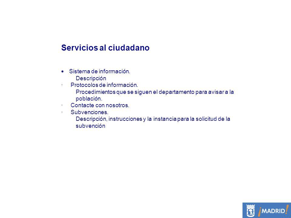 Servicios al ciudadano
