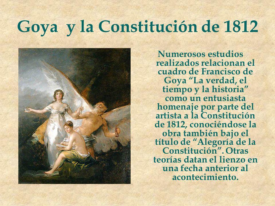 Goya y la Constitución de 1812