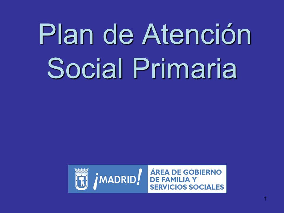 Plan de Atención Social Primaria