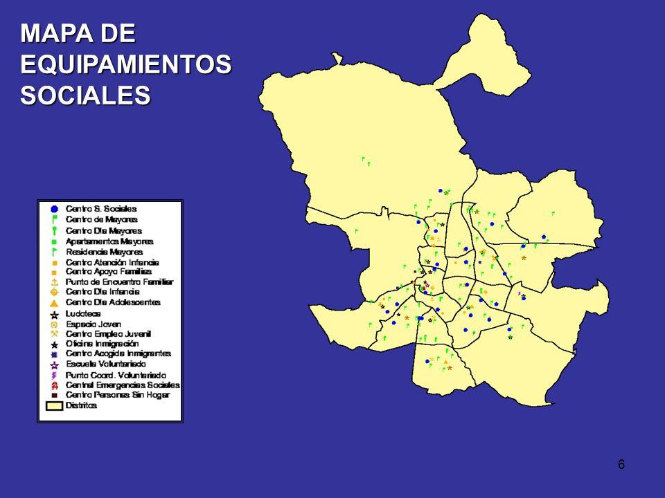 MAPA DE EQUIPAMIENTOS SOCIALES