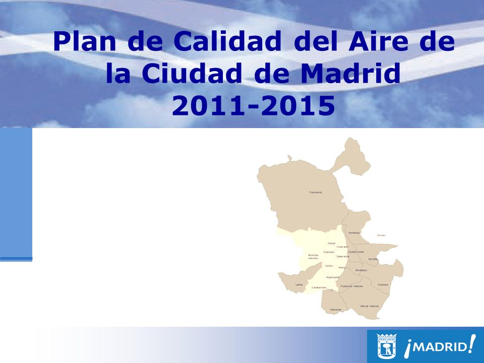 Plan de Calidad del Aire de la Ciudad de Madrid