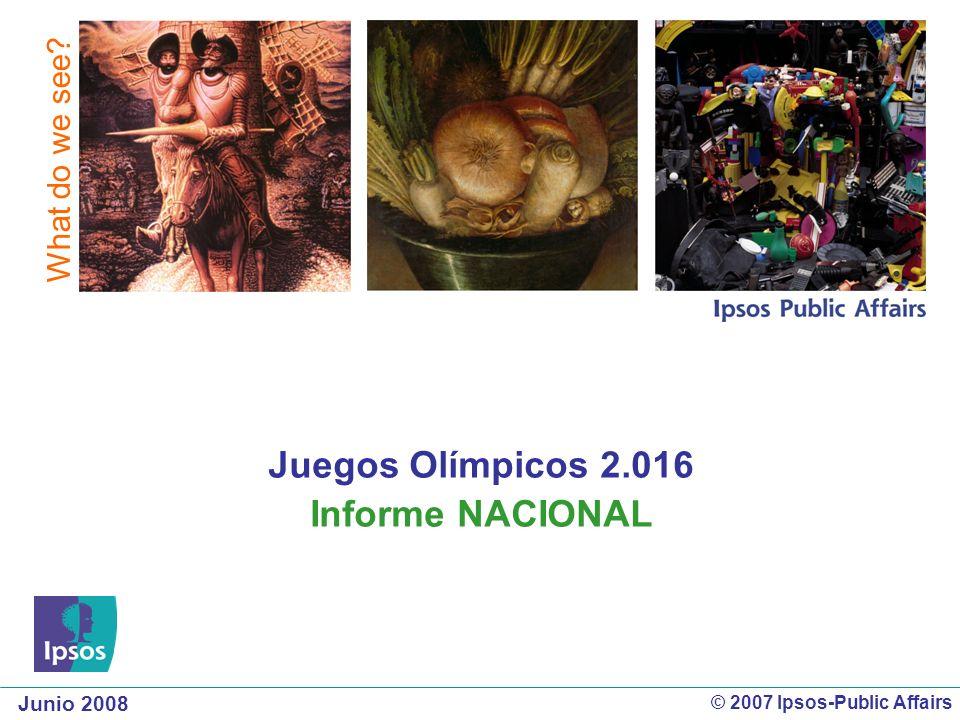 Juegos Olímpicos 2.016 Informe NACIONAL