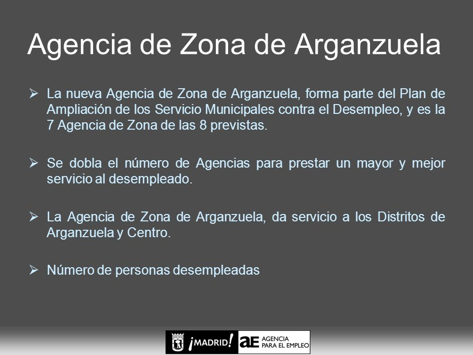 Agencia de Zona de Arganzuela