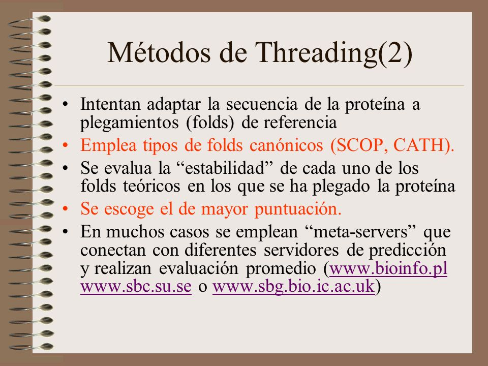 Métodos de Threading(2)
