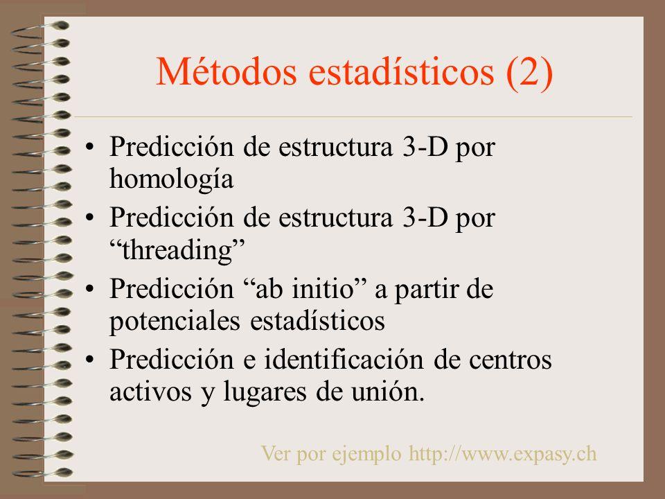 Métodos estadísticos (2)