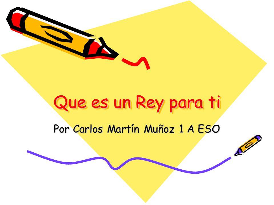 Por Carlos Martín Muñoz 1 A ESO