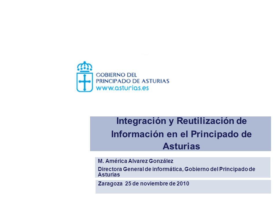 Integración y Reutilización de Información en el Principado de Asturias