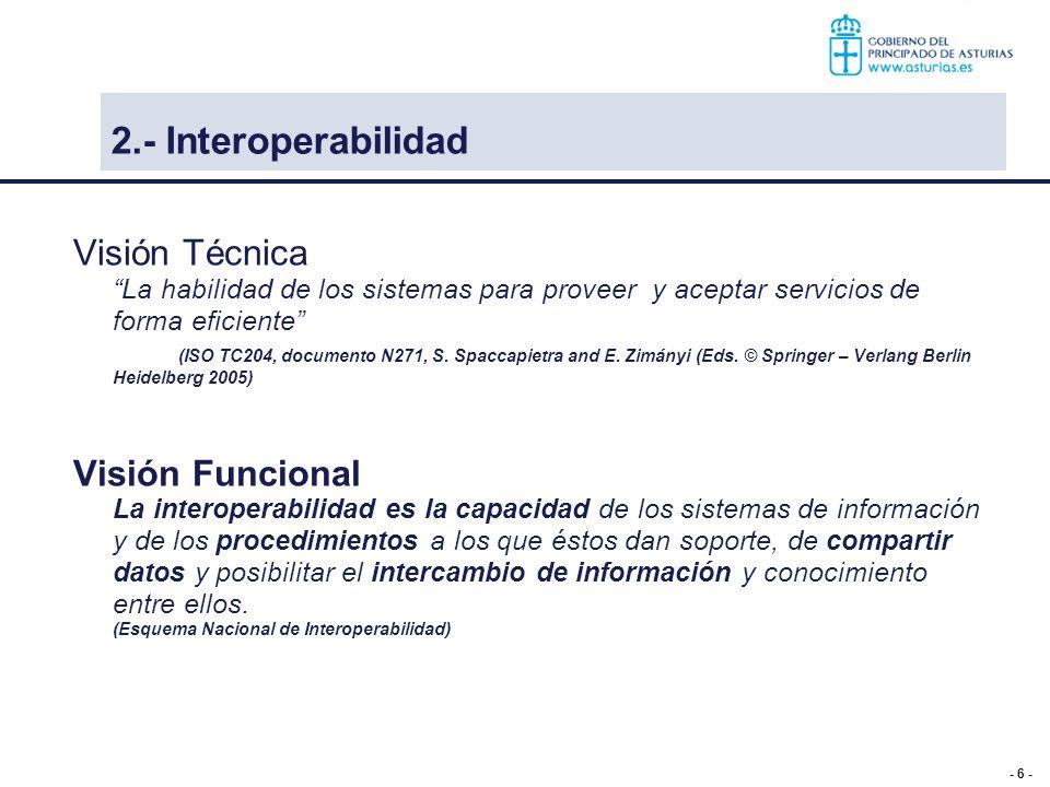 2.- Interoperabilidad