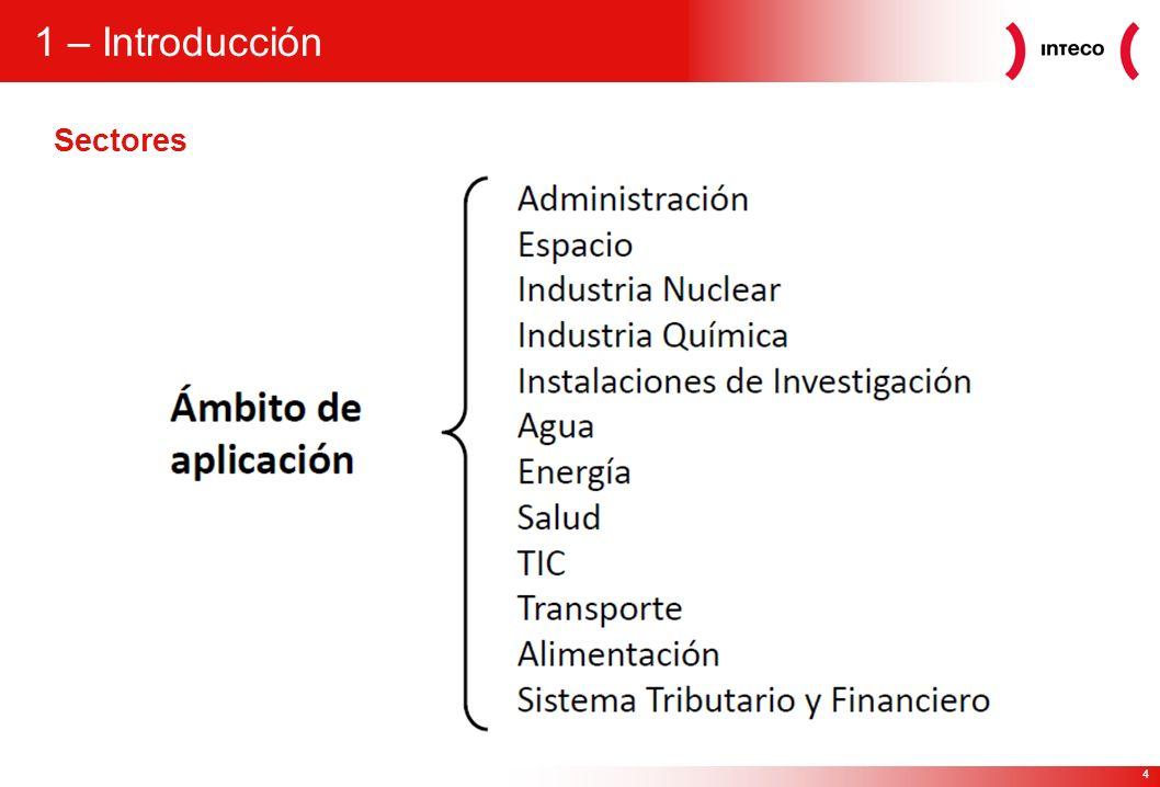 1 – Introducción Sectores