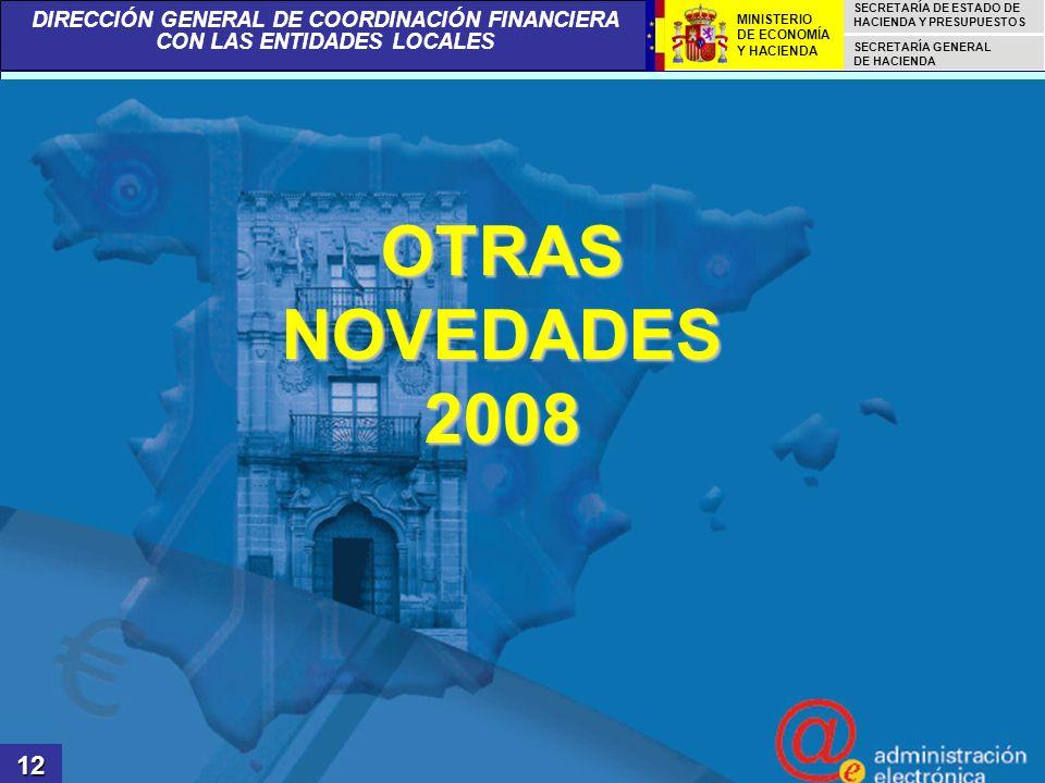 OTRAS NOVEDADES 2008 12