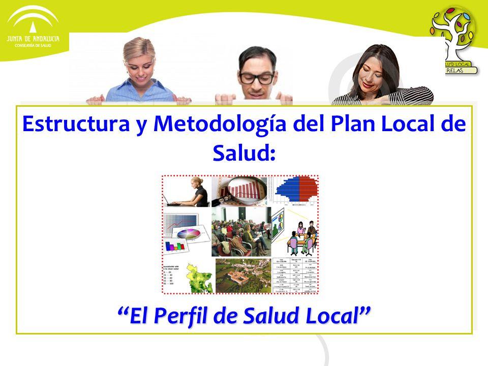 Estructura y Metodología del Plan Local de Salud: