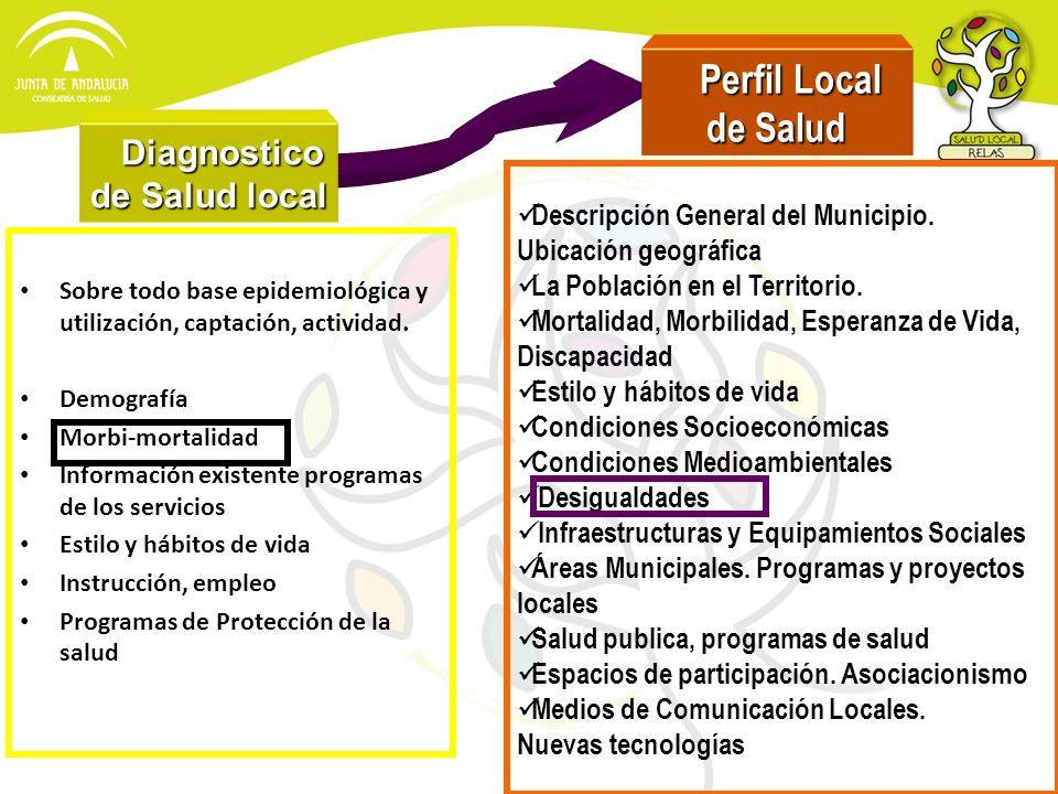 Diagnostico de Salud local