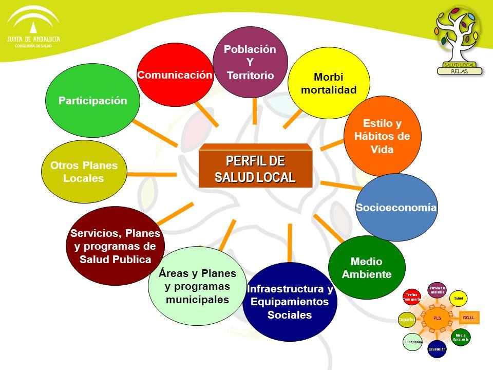 PERFIL DE SALUD LOCAL Población Y Territorio Comunicación Morbi