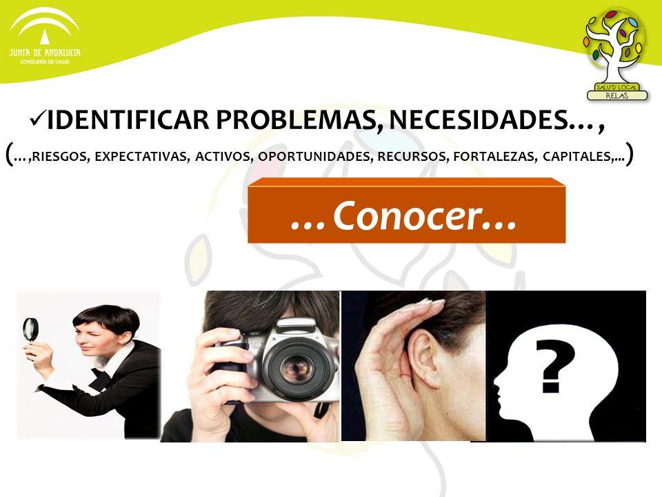 IDENTIFICAR PROBLEMAS, NECESIDADES…,