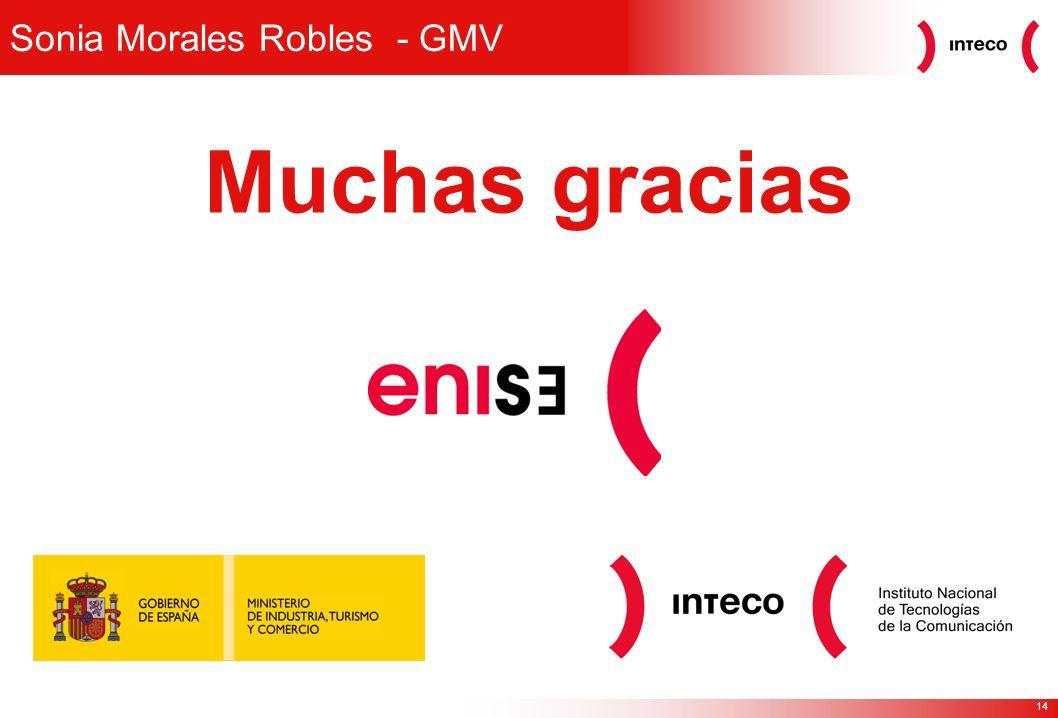 Sonia Morales Robles - GMV