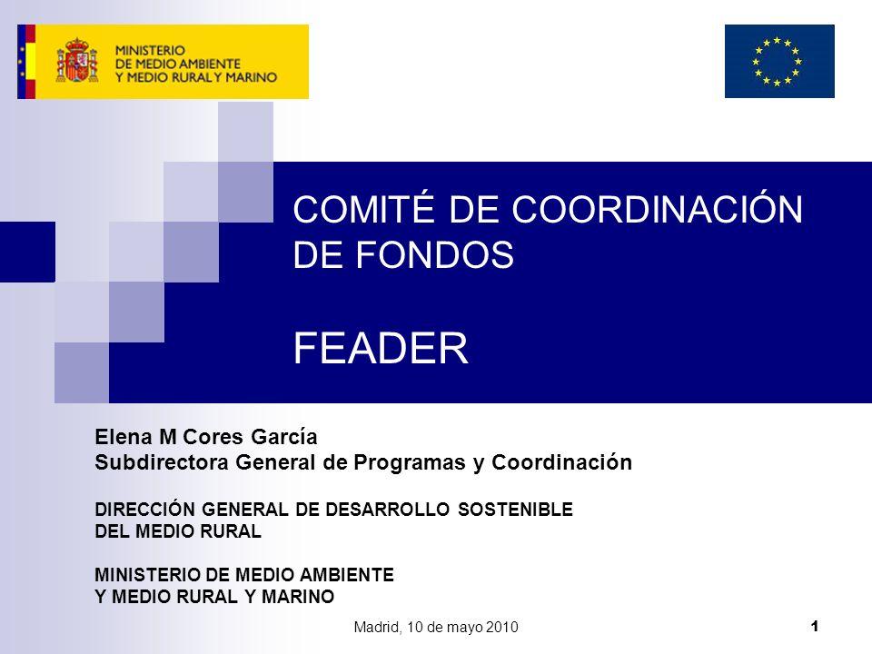 COMITÉ DE COORDINACIÓN DE FONDOS FEADER