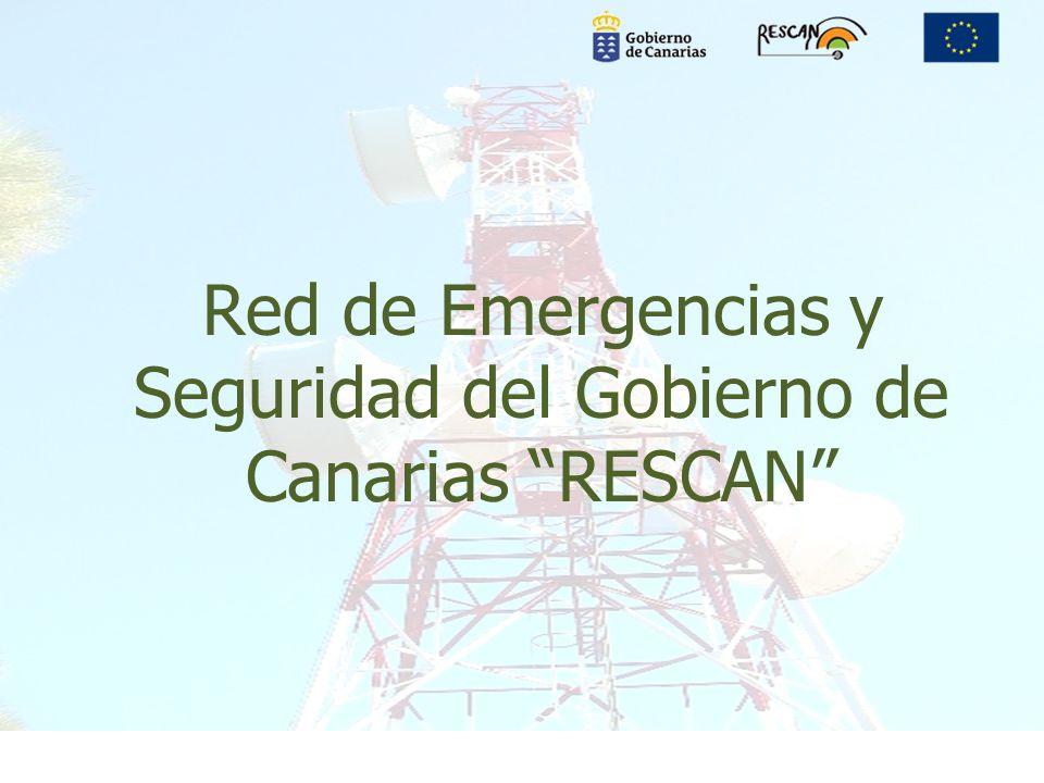 Red de Emergencias y Seguridad del Gobierno de Canarias RESCAN