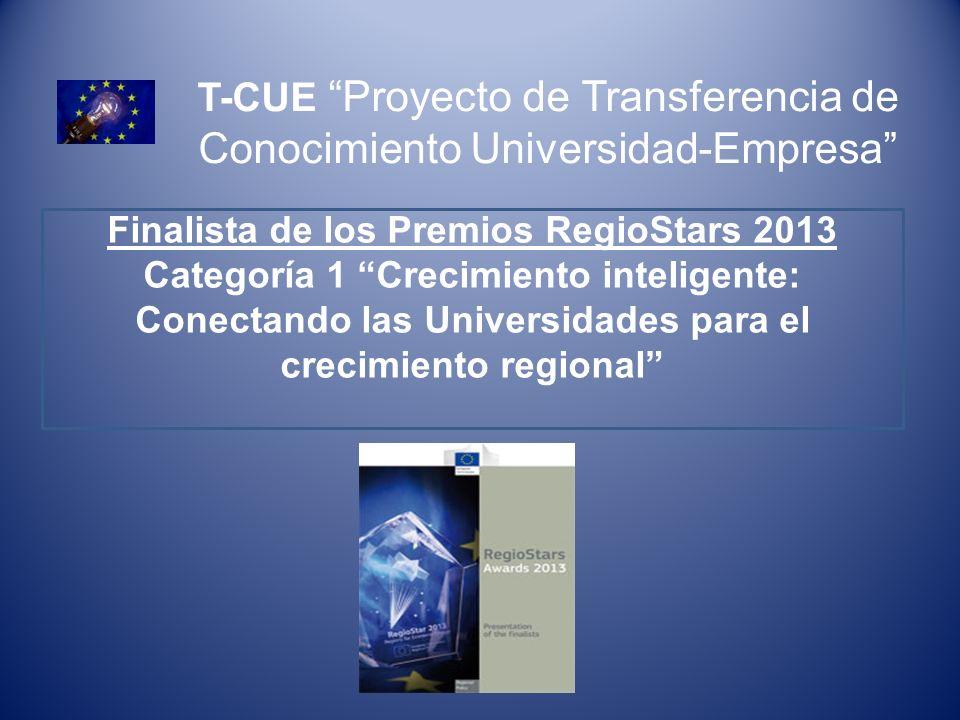 Finalista de los Premios RegioStars 2013