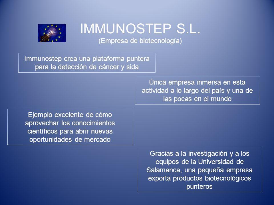 IMMUNOSTEP S.L. (Empresa de biotecnología)