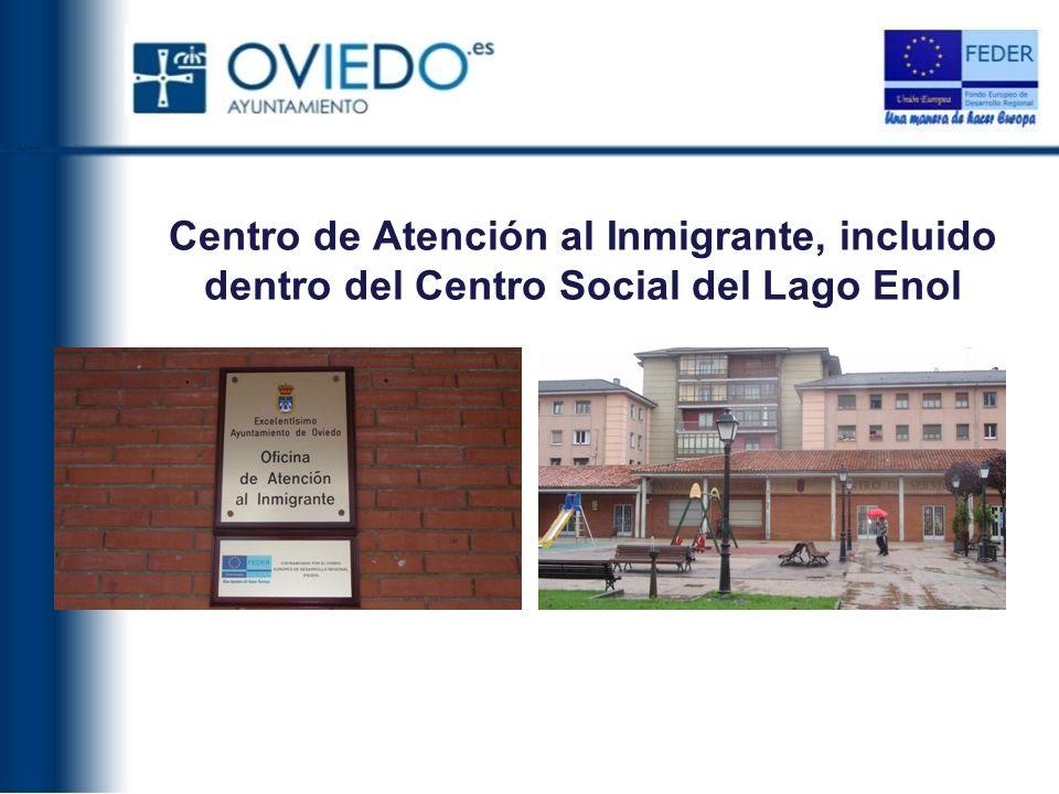 Centro de Atención al Inmigrante, incluido dentro del Centro Social del Lago Enol